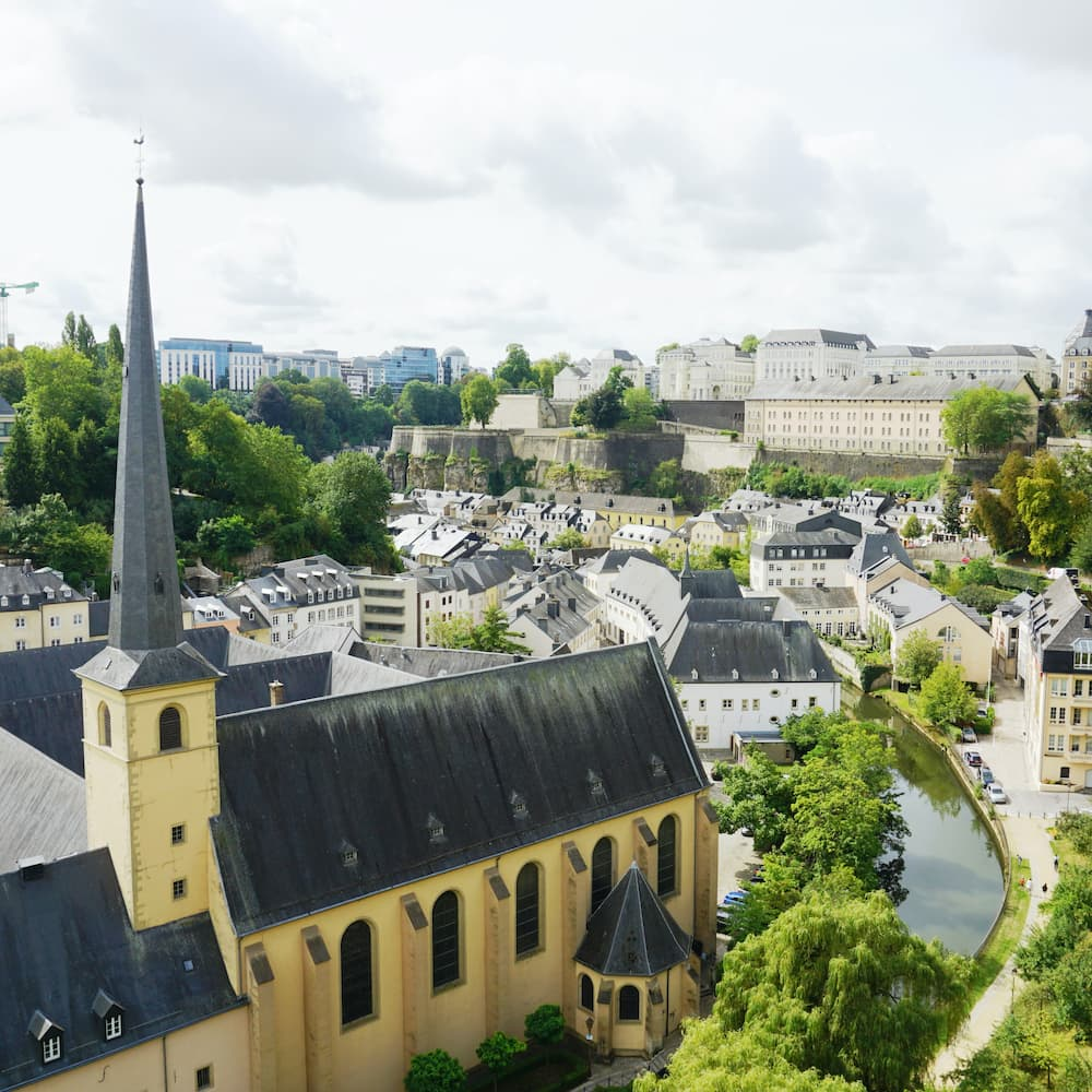 image of Luxembourg City