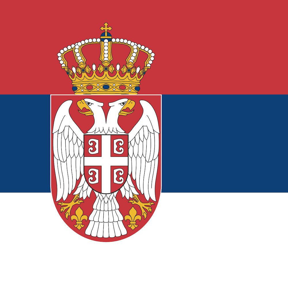 Belgrade's flag