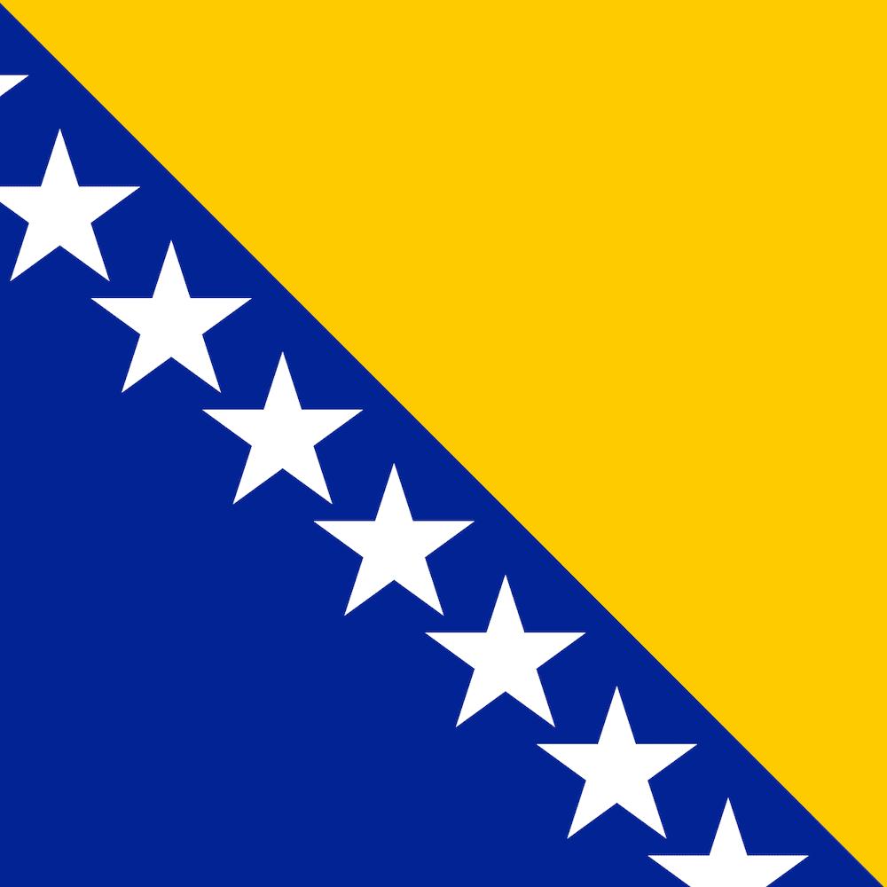 mostar's flag