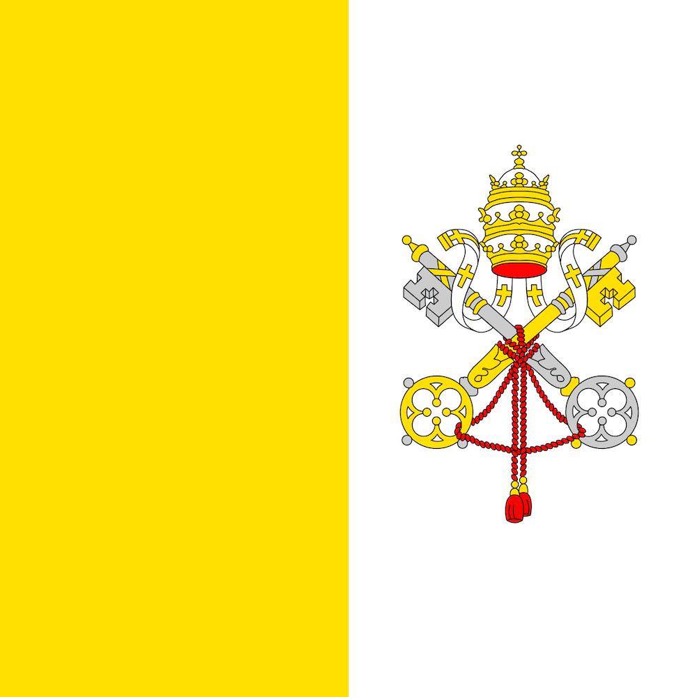 Vatican City's flag